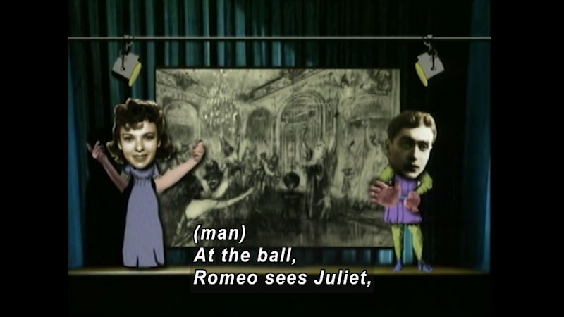 Still image from: Standard Deviants School: Romeo & Juliet (Shakespeare Program 4)