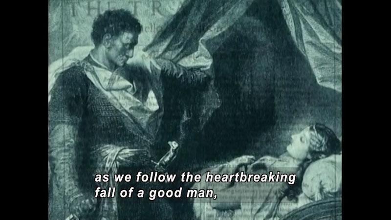 Still image from: Standard Deviants School: What Is Tragedy? (Shakespeare Program 2)