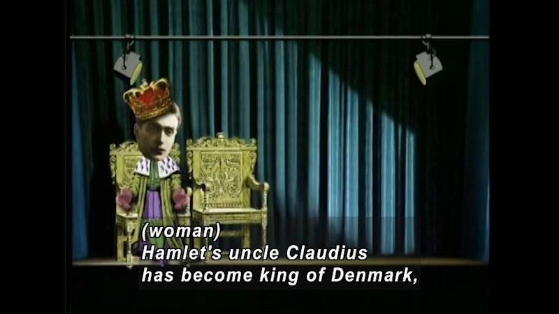 Still image from: Standard Deviants School: Hamlet Basics (Shakespeare Program 5)