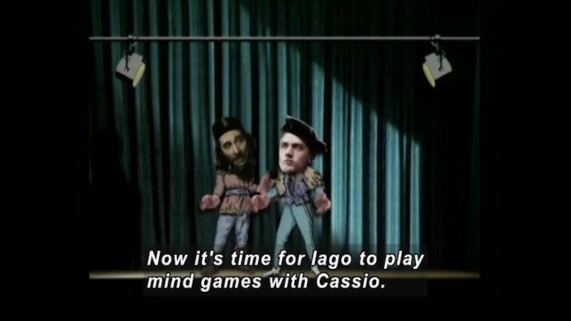 Still image from: Standard Deviants School: Othello Basics (Shakespeare Program 7)