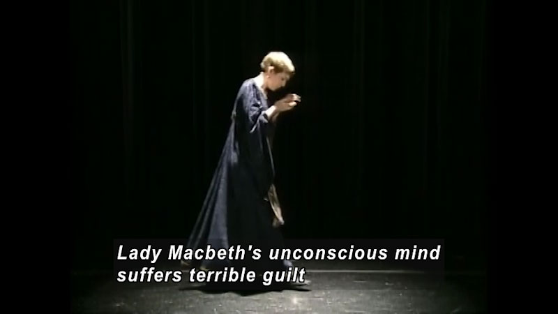 Still image from: Standard Deviants School: The Characters of Macbeth (Shakespeare Program 10)