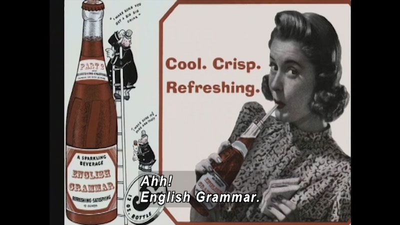 Still image from: Standard Deviants School: Grammar Follies (English Grammar Program 6)