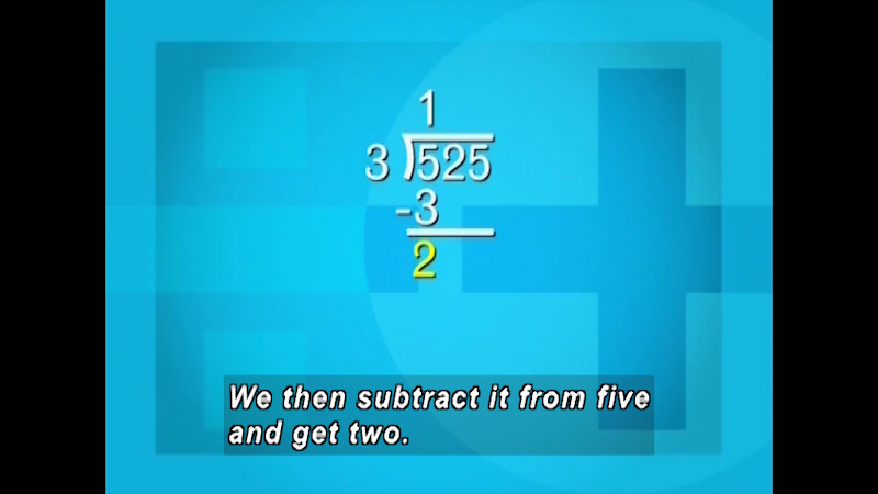 Still image from: Arithmetic: Dividing Whole Numbers