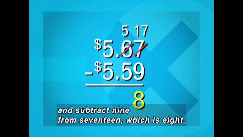 Still image from: Arithmetic: Understanding Decimals