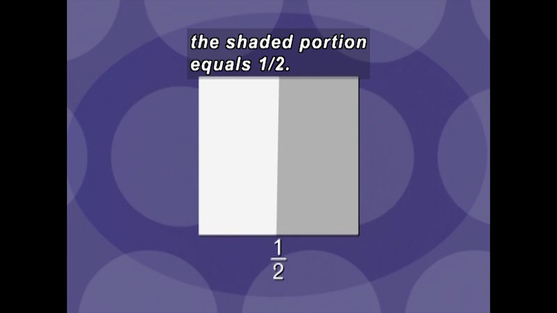 Still image from: Arithmetic: Understanding Fractions