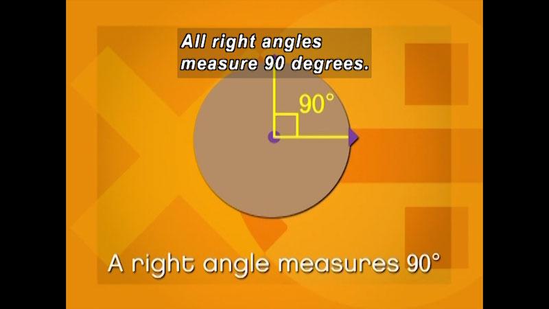 Still image from: Fundamental Math: Angles, Polygons and Circles