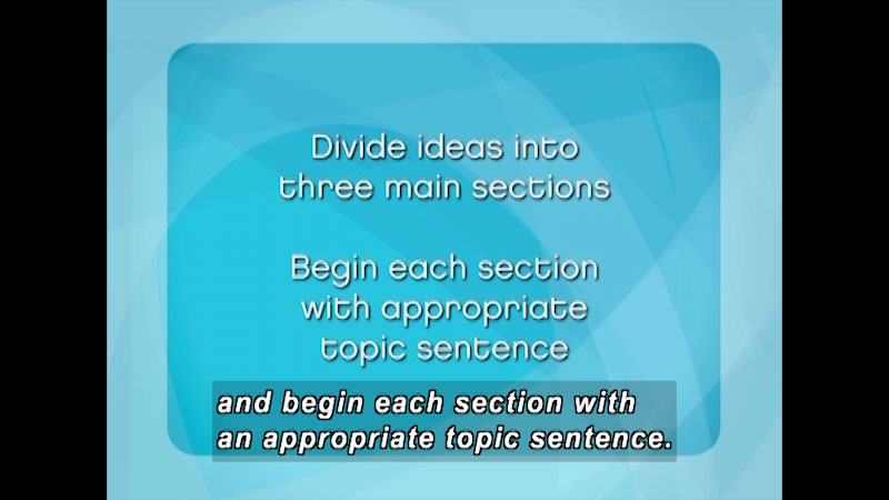 Still image from: English Composition: Strategies and Style (Module 2)