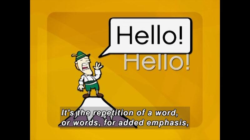 Still image from: English Composition: Rhetoric + Writing (Module 4)