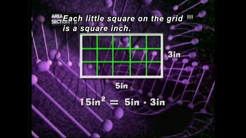 Still image from: Standard Deviants: The Many-Sided World of Geometry (Program 6)
