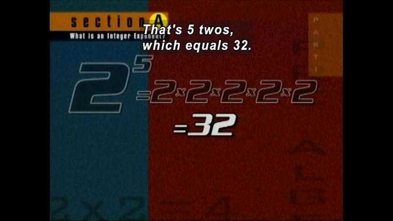 Still image from: Standard Deviants: Pre-Algebra (Program 1)