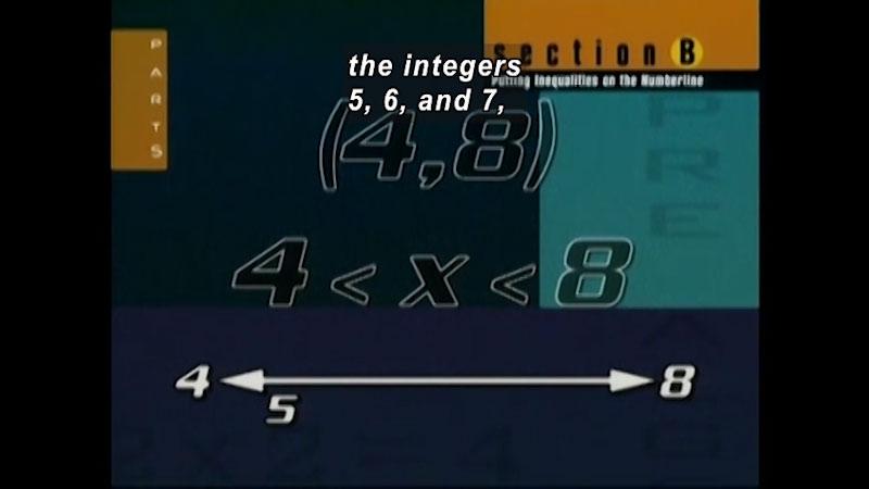 Still image from: Standard Deviants: Pre-Algebra (Program 4)