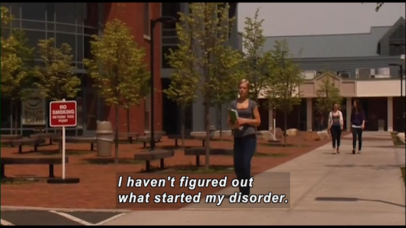Still image from: Talk It Out: What Causes an Eating Disorder?