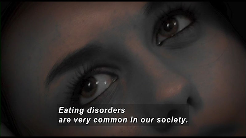 Still image from: Talk It Out: I Have an Eating Disorder, What Can I Do?