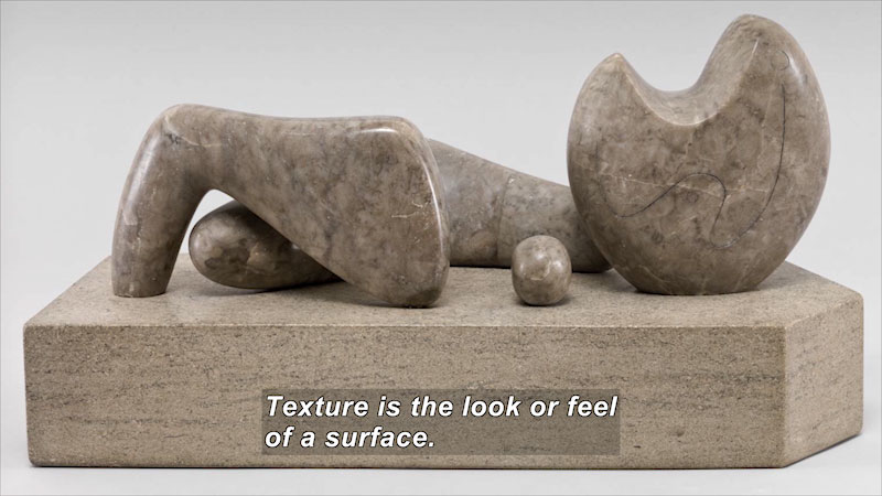 Still image from: Elements of Art: Texture
