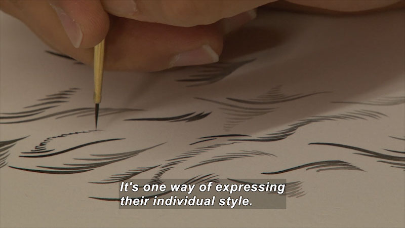 Still image from: Elements of Art: Line
