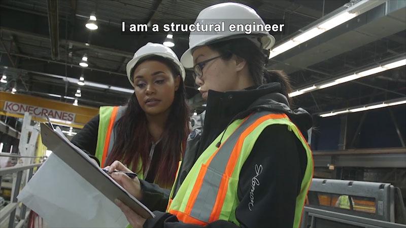 Still image from: Career Spotlight: Civil Engineer