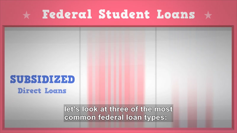 Still image from: Understanding Federal Student Loans