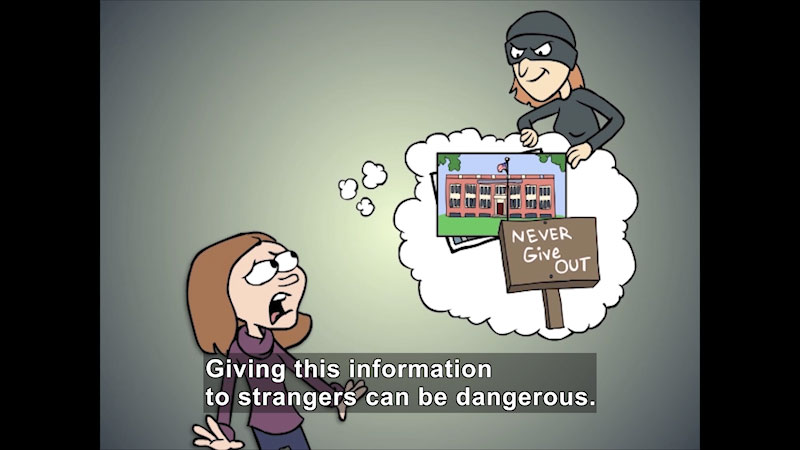 Still image from: Protect Your Personal Information