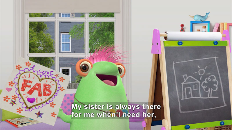 Still image from Marvie Celebrates National Siblings Day