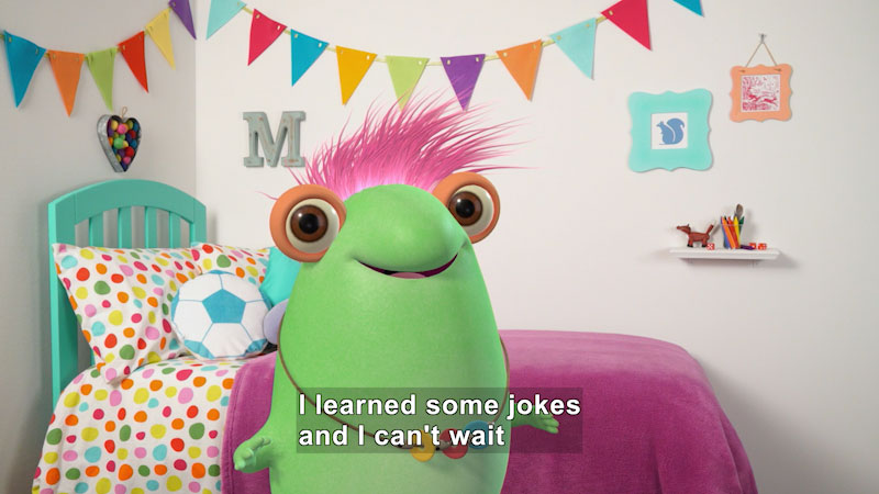 Still image from: Marvie's Favorite Kid's Jokes (Part 2)