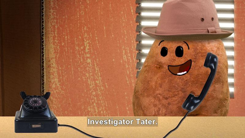 Still image from: Marvie's Pick: Investigator Tater