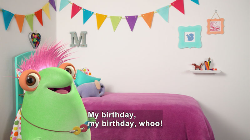 Still image from Marvie's Birthday Party Recap