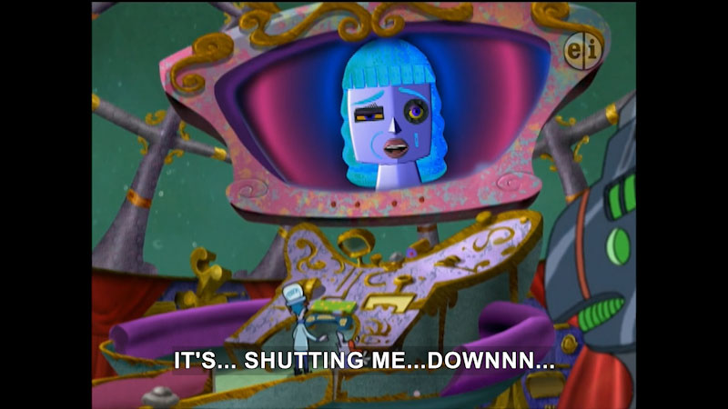 Still image from: Cyberchase: Lost My Marbles