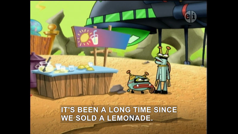 Still image from Cyberchase: Return to Sensible Flats
