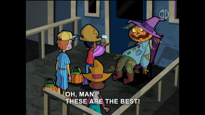 Still image from: Cyberchase: Trick or Treat