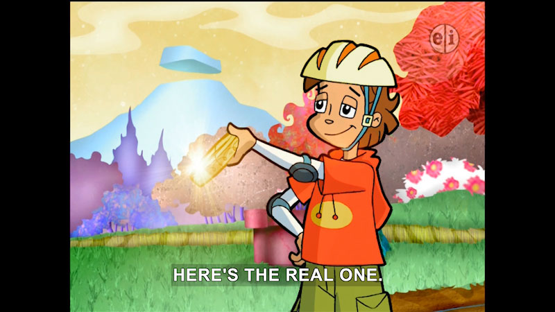 Still image from: Cyberchase: The Borg of the Ring