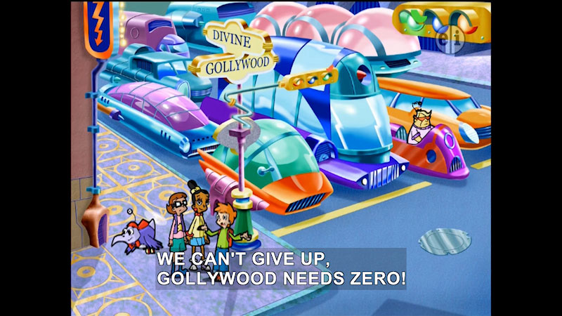 Still image from: Cyberchase: A World Without Zero