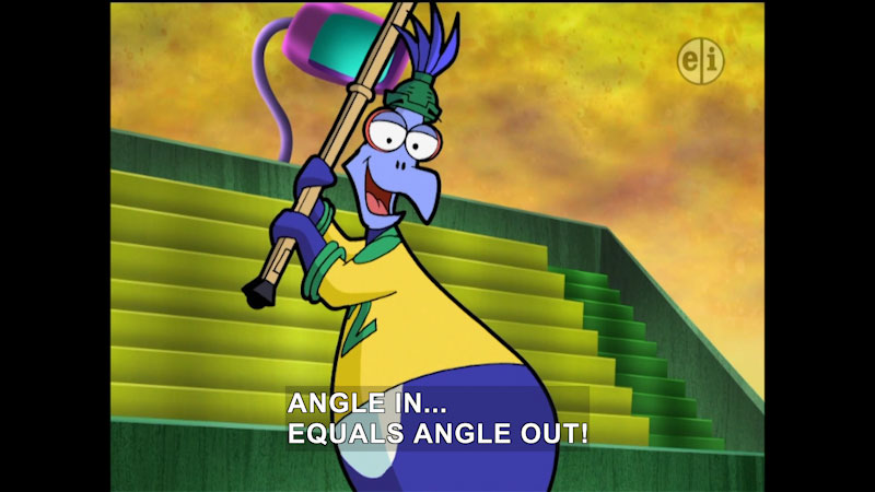 Still image from Cyberchase: Penguin Tears