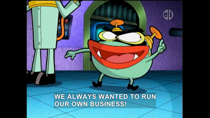 Still image from Cyberchase: Past Perfect Prediction