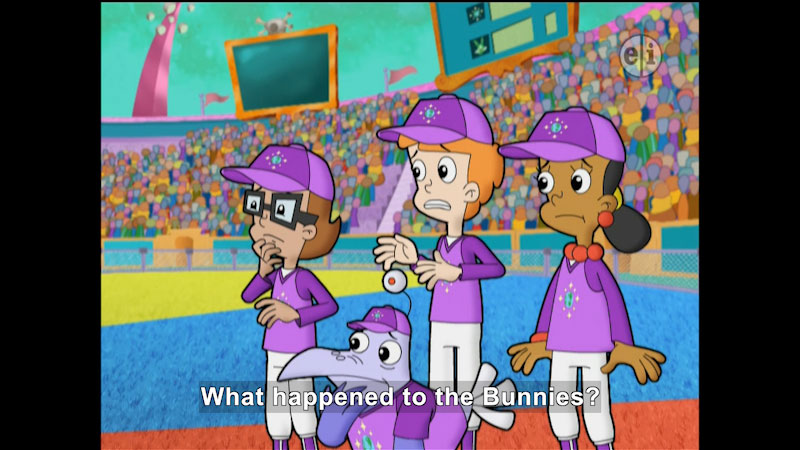 Still image from Cyberchase: Chaos as Usual