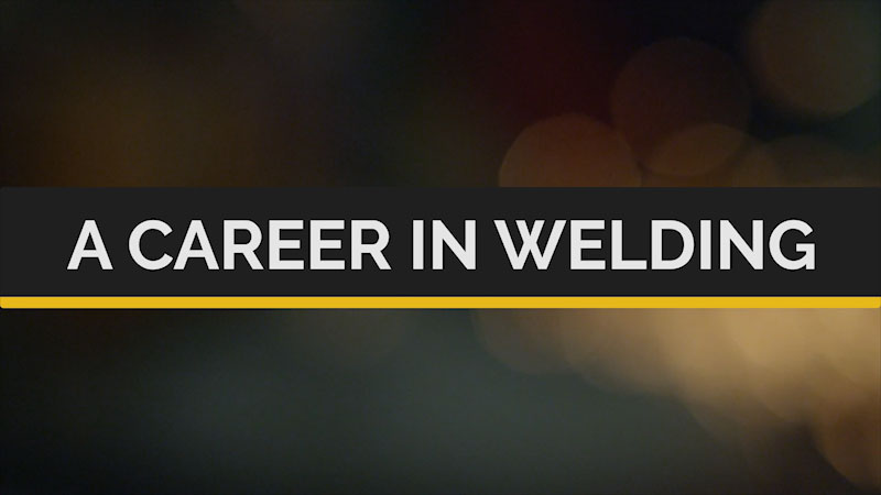Still image from Deaf and Hard-of-Hearing STEM Professionals: A Career in Welding