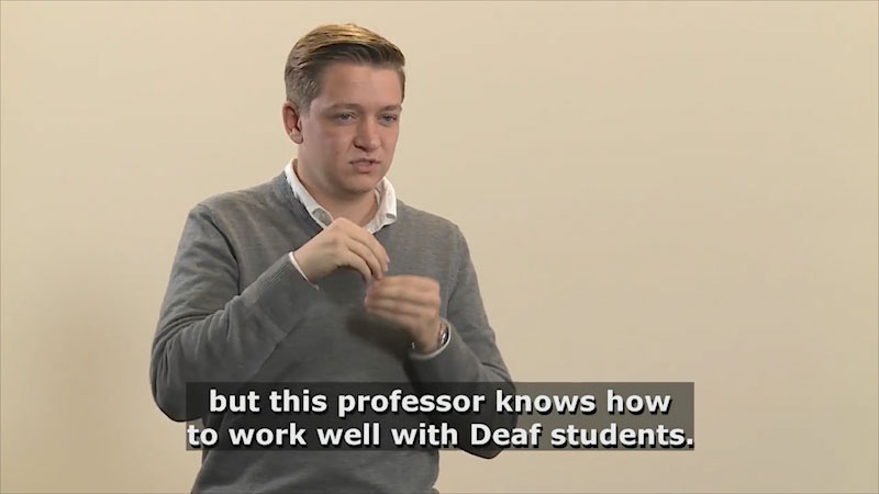 Still image from: Teaching & Learning: Teaching (Calling on Students)