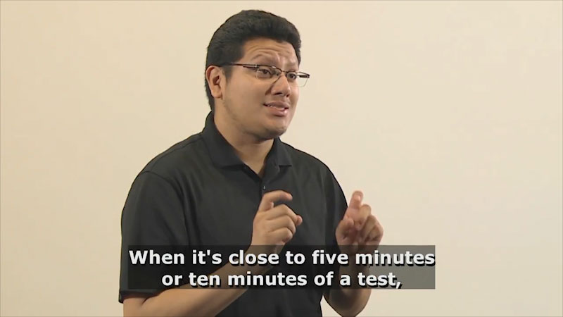 Still image from Teaching & Learning: Teaching (Testing)