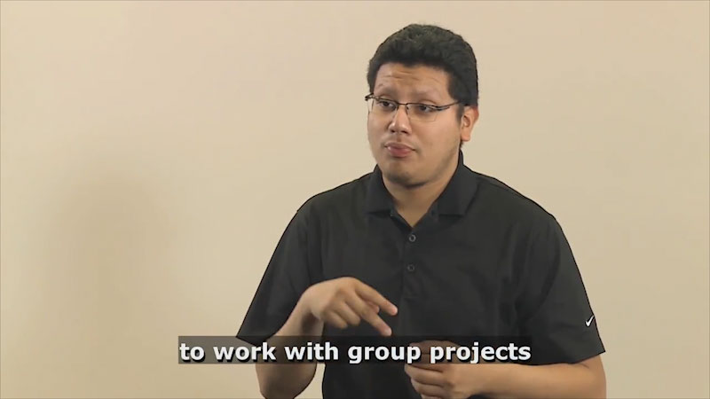 Still image from Teaching & Learning: Teaching (Group Projects)
