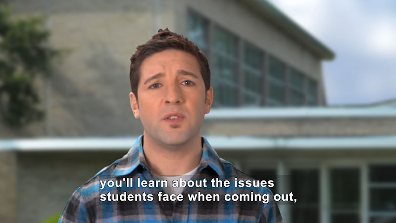 Still image from: Coming Out: What Every Teen (Gay and Straight) Needs to Know