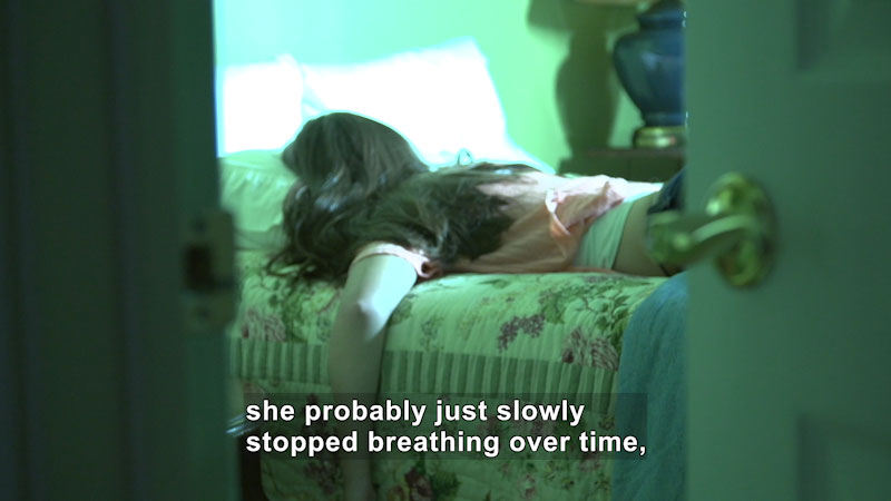 Still image from: How Could This Happen? A True Story About Binge Drinking and Death