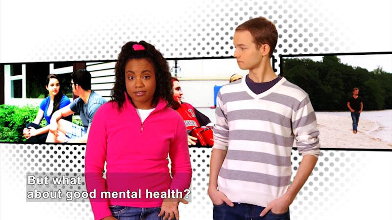 Still image from: Hallmarks of Good Mental Health