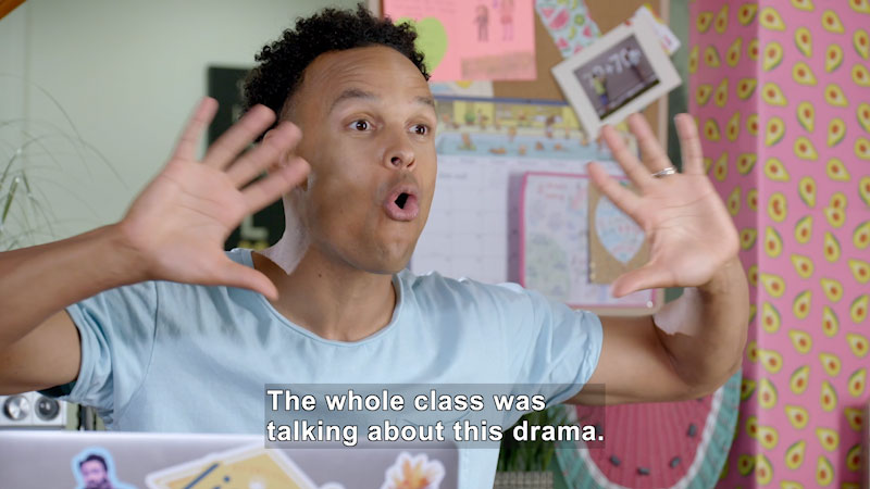 Still image from: Making School a Positive Place: Too Much Drama