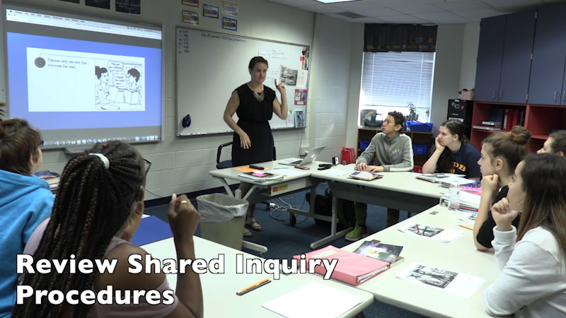 Still image from FSDB Pineapple PD: Shared Inquiry
