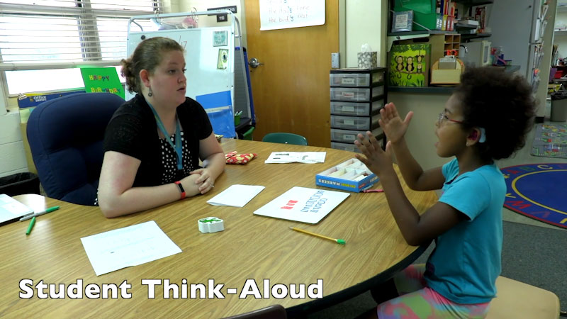 Still image from FSDB Pineapple PD: Math Think-Aloud