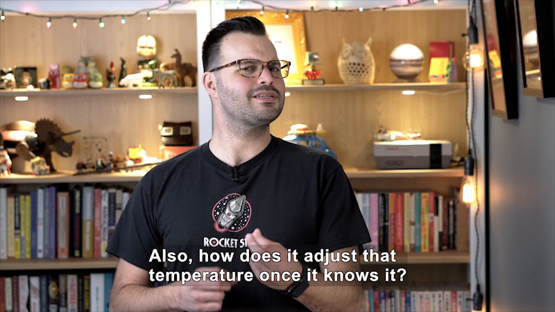 Still image from Uno Dos of Trace: How Does Your Body Know What Temperature to Make a Fever?