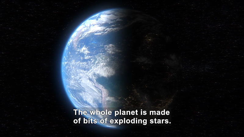 Still image from Uno Dos of Trace: Where Do All Earth's Heavy Elements Actually Come From?