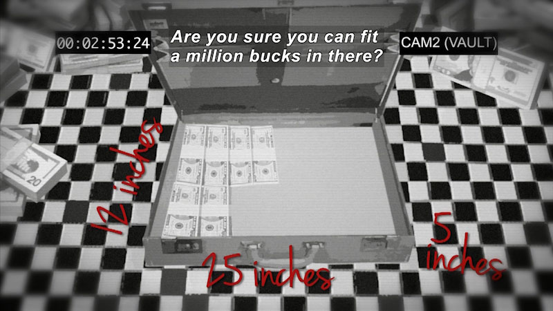 Still image from: Math Mess: The Bulging Briefcase