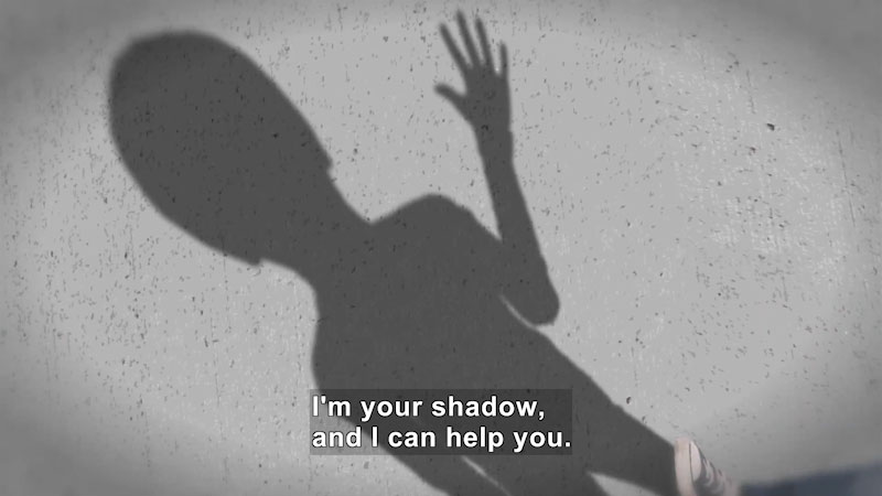 Still image from: Math Mess: The Shadow Knows