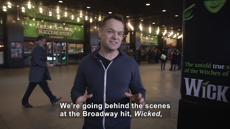 """Still image from: Behind the Scenes of """"Wicked"""""""