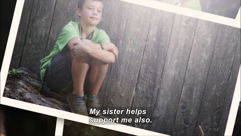 Still image from: Children of Military Families: Volume 2--Ways to Cope